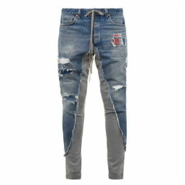 Greg Lauren Denim Mix Pants
