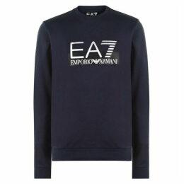 EA7 Shine Logo Sweatshirt