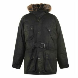 Barbour International ERGO WAXED PARKA JACKET