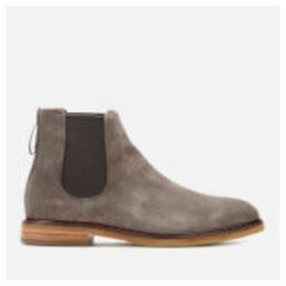 Clarks Men's Clarkdale Gobi Suede Chelsea Boots - Taupe - UK 11