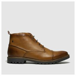 Base London Tan Rafferty Boots