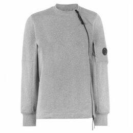 CP Company Zip Lens Crew Sweatshirt