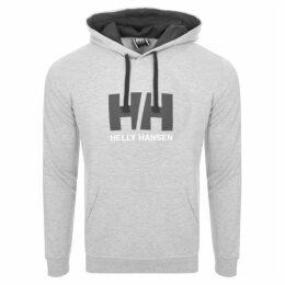 Helly Hansen Logo Hoodie Grey