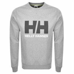 Helly Hansen Logo Crew Neck Sweatshirt Grey
