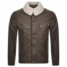 Belstaff Patrol Wax Jacket Khaki