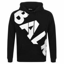 BALR Tilted Logo Hoodie Black