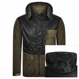 CP Company Goggle Hooded Jacket Khaki