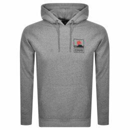 Edwin Sunset Logo Hoodie Grey