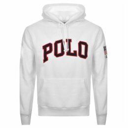 Ralph Lauren Polo Fleece Hoodie White