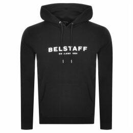 Belstaff Pullover Logo Hoodie Black