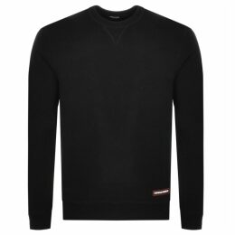 DSQUARED2 Crew Neck Sweatshirt Black