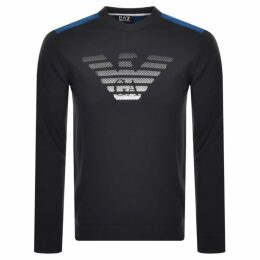 EA7 Emporio Armani 7 Lines Sweatshirt Navy
