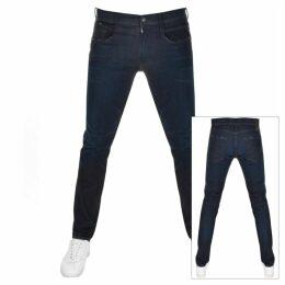Replay Anbass Hyperflex Jeans Navy
