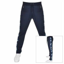 Michael Kors Camo Stripe Track Pant Navy