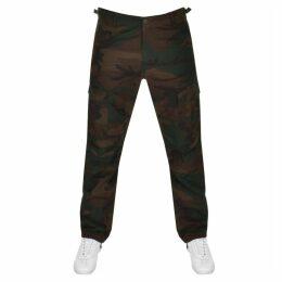 Carhartt Aviation Camo Cargo Trousers In Green