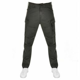 G Star Raw Roxic Straight Cargo Trousers Green