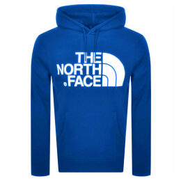 The North Face Standard Logo Hoodie Blue