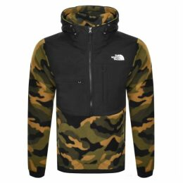 The North Face Denali Fleece Anorak Jacket Green