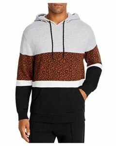 Pacific & Park Leopard Color-Block Hoodie - 100% Exclusive