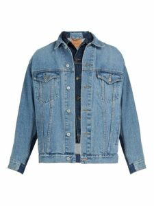 Bless - X Maryam Nassir Zadeh Deconstructed Denim Jacket - Mens - Blue