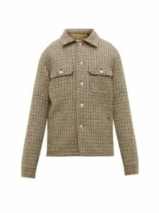 Maison Margiela - Checked Wool Tweed Jacket - Mens - Multi