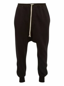 Rick Owens Drkshdw - Prisoner Cotton Track Pants - Mens - Black