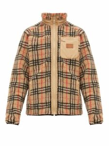 Burberry - Westley Vintage Check Fleece Jacket - Mens - Camel