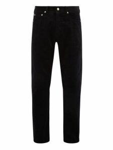 Hope - Rush Cotton Corduroy Trousers - Mens - Blue