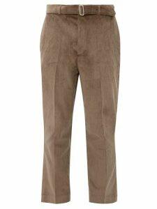 Officine Générale - Owen Cotton Corduroy Trousers - Mens - Brown