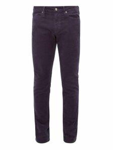 Frame - L'homme Corduroy Slim Leg Trousers - Mens - Navy