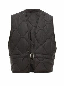 Our Legacy - Langoustine Padded Vest - Mens - Black