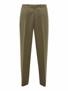 Our Legacy - Borrowed Wide Leg Trousers - Mens - Green
