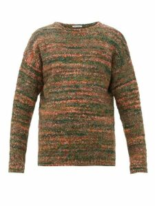 Our Legacy - Popover Smudge Wool Blend Sweater - Mens - Green Multi
