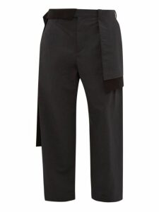 Craig Green - Layered Panelled Twill Trousers - Mens - Black