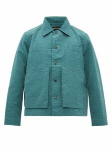 Craig Green - Line Stitched Crepe Worker Jacket - Mens - Green