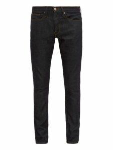 Frame - L'homme Cotton Blend Slim Leg Jeans - Mens - Blue