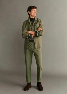 Tapered fit premium trousers