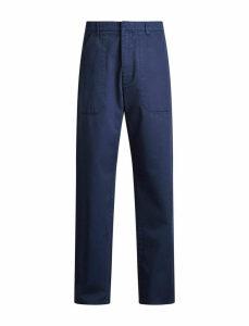 Bridge Twill Cotton Dye Trousers