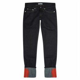 Helmut Lang X Josephine Meckseper Indigo Skinny Jeans