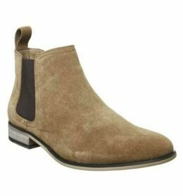 Office Barkley Chelsea Boot TAN SUEDE