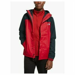 The North Face Quest 3-in-1 Men's Waterproof Jacket, TNF Red/TNF Black