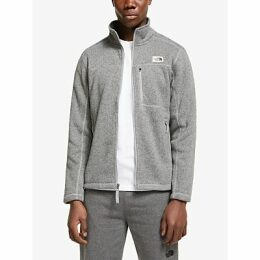 The North Face Gordon Lyons Full Zip Men's Fleece Jacket, TNF Medium Grey Heather