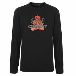 CP Company Fleece Crew Sweatshirt