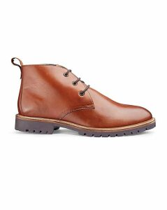 Alban Leather Chukka Boot Ex Wide Fit