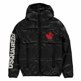 DSquared2 Dsquared2 Leaf Logo Puffer Jacket