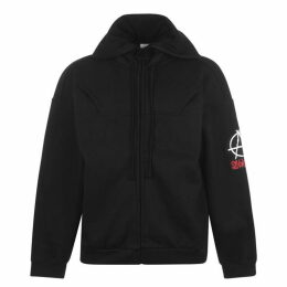 Vetements Up Down Zip Hoodie