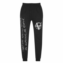 Vetements Anarchy Jogging Bottoms
