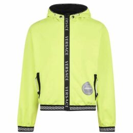 Versace Icon Tape Zip Top Hoodie