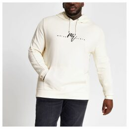 Mens River Island Big and Tall slim fit Maison Riviera hoodie