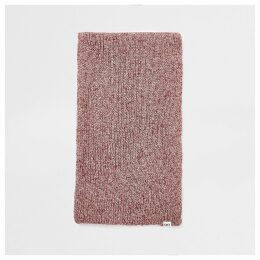 Mens River Island Red twist knitted scarf